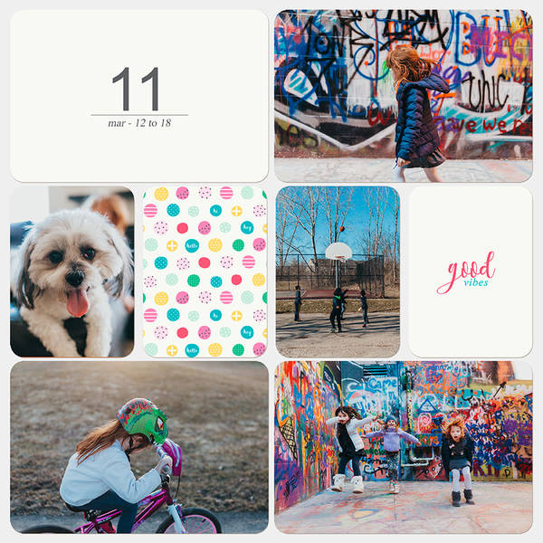 Project Life 2018 - Week 11