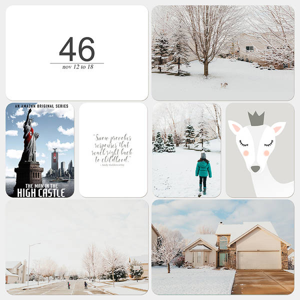 Project Life 2018 | Week 46