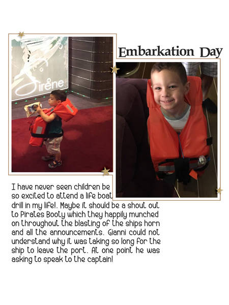 Page 2 Embarkation day